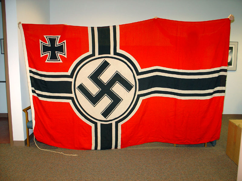 Nazi german Flag